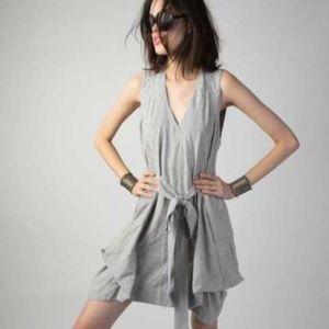 Malia Mills Flavie French Striped Printed Dress M